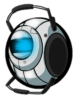Quick Wheatley Doodle by PurpleRAGE9205