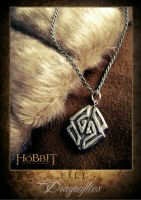 The Hobbit: Fili Pendant by WinterSoul9