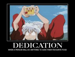 Inuyasha Noodle Demotivational by Vcorb1