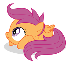Scootaloo - Afraid by guille-x3