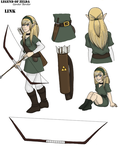 Link, Heroine of Time by Gemkio