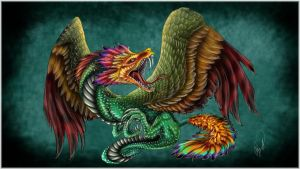 Quetzalcoatl Dragon by dizturbed