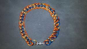 MLP Themed Spitfire Chainmail Bracelet-1 by TheGiantsnoll