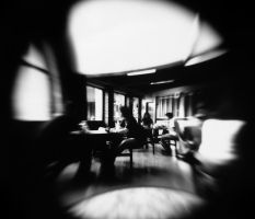 Movement in the Cafe by kwirky