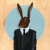 David Lynch - Rabbit by famouswhendead