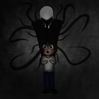 Slendermans victim by BlueRaveMod
