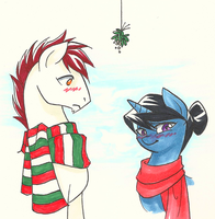 Hearth's Warming and Special Someponies by Valkyrie-Girl