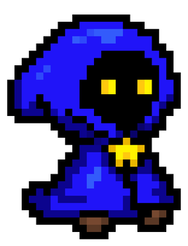 16-Bit Star Mage by AgentSmith24
