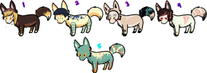little dog adoptions 1 by Harlequining