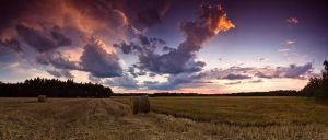 Rural Sunset by drkshp