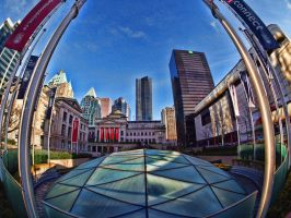 Robson Square by AgilePhotography