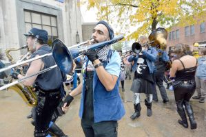 2014 Honk Festival, Chaotic Noise Up Close 4 by Miss-Tbones