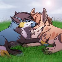 Couple -Commission- by ShadowFrozenPaw