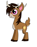 My new deersona by Dylan-the-dude