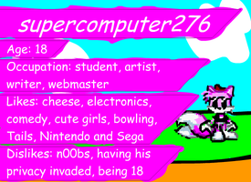 Teh SC ID by supercomputer276