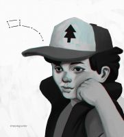creepy dipper by thesimplyLexi