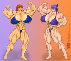 Kunoichi Bodybuilding Contest by muscle82002