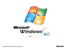 Windows XP SP3 Bootscreen by TheHappyDepressive