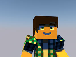 My skin in Cinema 4D by MrWigleg