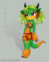 .::Flora The Dragon::. by luna777