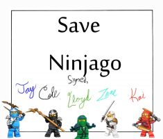 Save Ninjago by KaiJayColeZaneLloyd