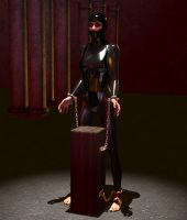 Latex Slave For Let by silverexpress