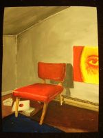 red chair by joogerson
