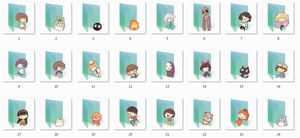 Ghibli Folder Icons by Ginokami6