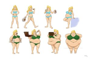 NEW Lucy Sequence B and P by Oda-Lee