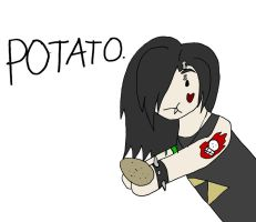 Potato. by Melanie-sama