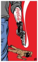 Killer Coke by Latuff2