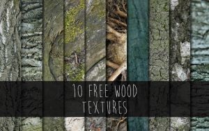 10 Free Wood Textures by Kavioli