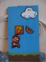 Super Mario painting by Twilightberry