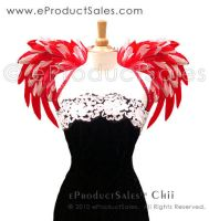 Red Queen Chii Angel Wings by eProductSales