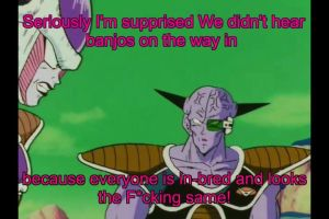 Freiza's thoughts on Namek by tsurugikage