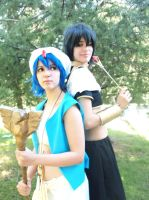 Judal and Aladdin - Magi by LenaleeDokuro
