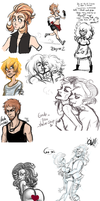 Sketchdump January 2014 by Carmalicious