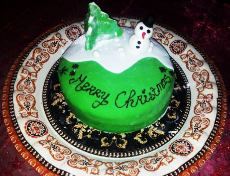 Christmas Cake by LaPetrovich