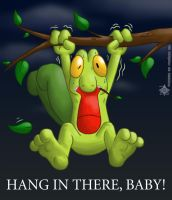 Hang in There, Treecko by Arbok-X