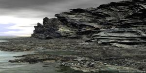 Tormented coast by nergal83