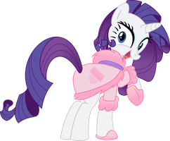 Rarity - I Love It! by EmberFiremane