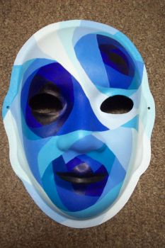 Blue Mask by capgar