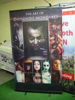 Comic-Con Display Banner by Awtew