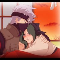 Kaiya and Kakashi by annria2002