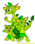 FLOWSQUIR AND HIS EVOLUTIONS by HOBYMIITHETACTICIAN