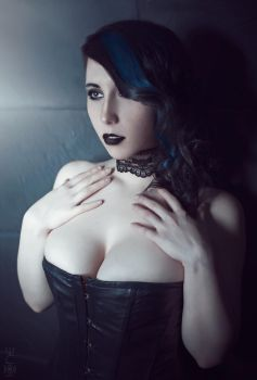 Black and Blue Mistress by Stephvanrijn