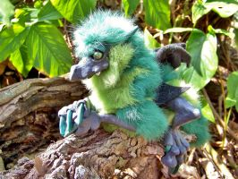 Little Green Woodbaby Dragon by Dream-finder