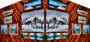 Faves in My Hall Mirrored 2 by skip2000