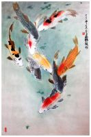 Eight Japanese Koi by tboonip1