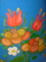 painting on a milk can by ingeline-art